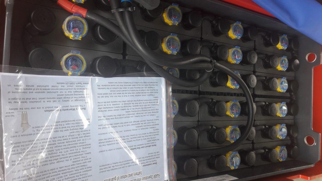 Ắc quy xe nâng điện Heli