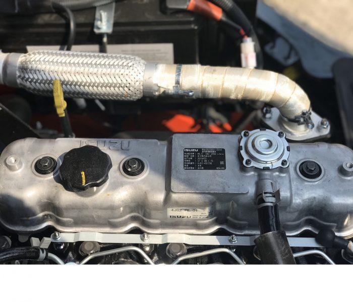 Động cơ isuzu xe nang hang heli