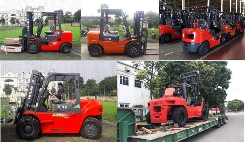 Bán xe nâng dầu ở Thanh Hóa