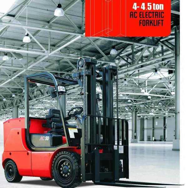 xe nâng điện 4 tấn