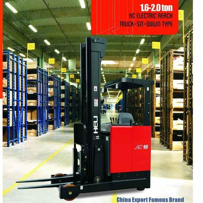 xe nâng điện Reach truck 1.6 tấn - 2 tấn