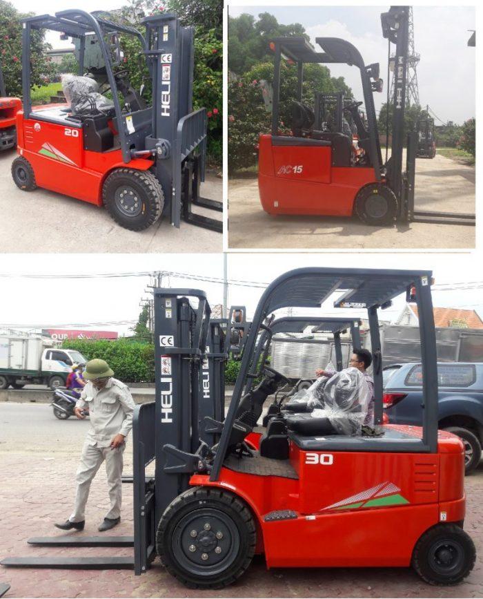 Xe nâng ở Bắc Ninh - Xe nâng điện