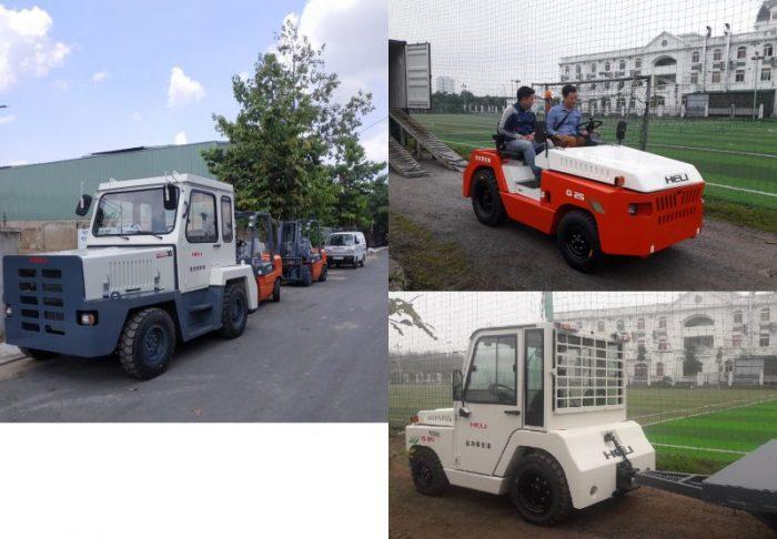 Xe kéo hàng ở Bắc Ninh