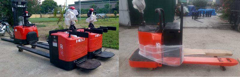 Cung cấp xe nâng điện pallet truck Heli ở Bắc Giang