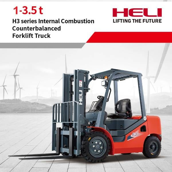 Xe nâng dầu Heli H3 Series 1 - 3.5 tấn