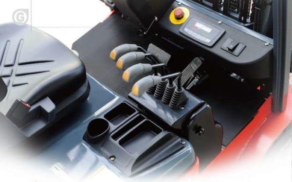 Thiết kế tối ưu xe nâng điện Heli