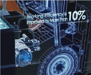 Hiệu năng xe điện Heli tốt hơn 10%