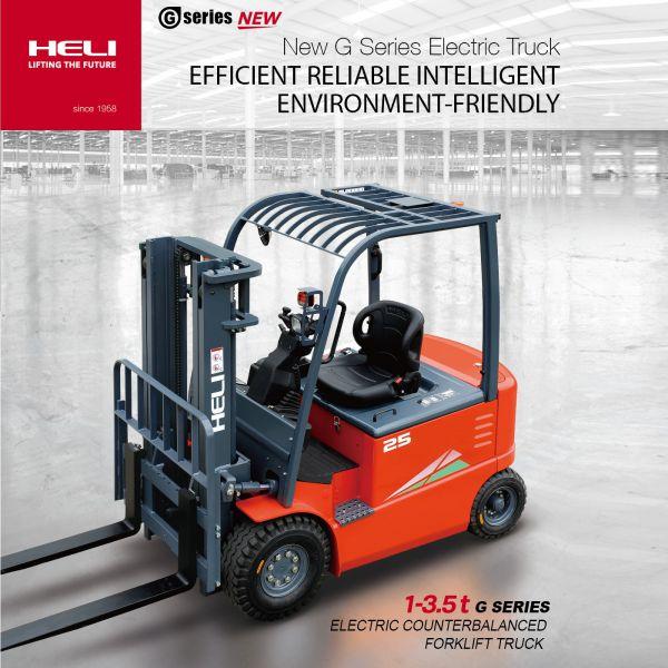 Xe nâng điện Heli _ Heli electric forklift truck