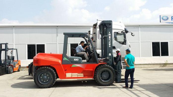 Xe nâng 10 tấn Heli model G serie