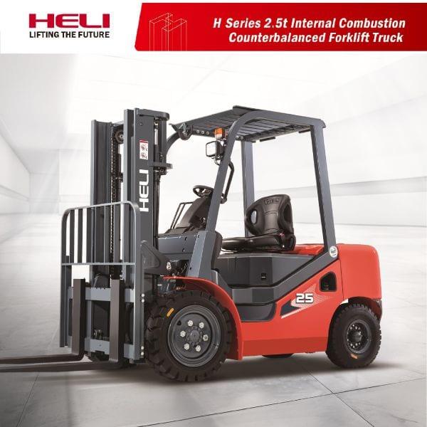 Ảnh bìa xe nâng dầu 2.5 tấn Heli H3 Series