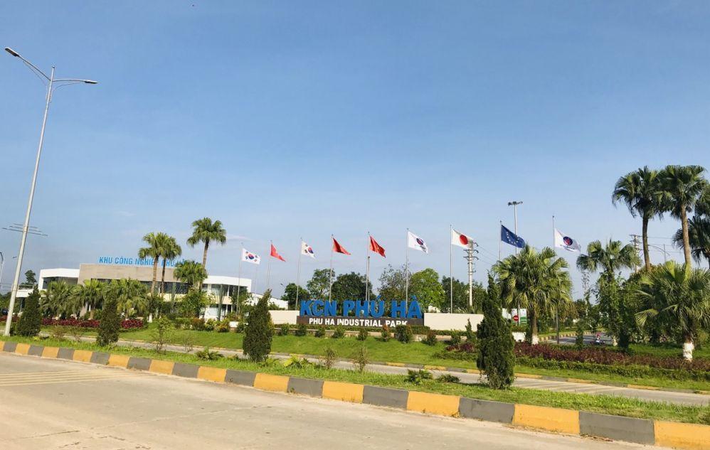 Xe nâng Heli ở Phú Thọ - KCN Phú Hà