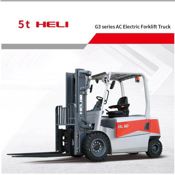 xe nâng điện 5 tấn Heli